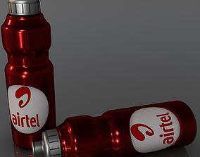 3D model product water bottle