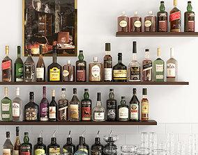 3D Alcohol Set 12