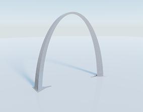 The Gateway Arch 3D asset