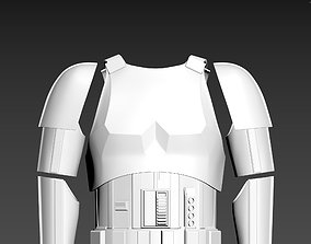 Star Wars Rogue One TK First Imperial 3D print model 2