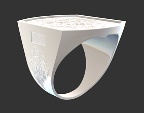 3D printable model Ring 08