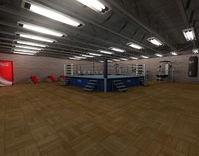Boxing Gym 3D model