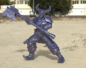 3D printable model qunari