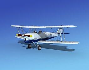 Dehavilland DH82 Tiger Moth V11 3D