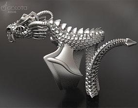 3D print model Scary Dragon ring - original