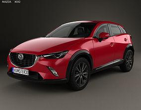 Mazda CX-3 2016 3D