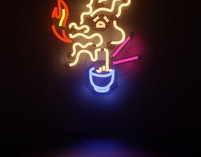 Neon 3D Model 1 - The Dragon Neon