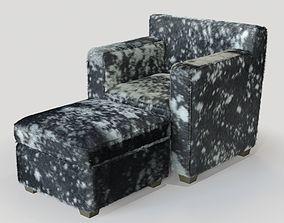 3D model RALPH Pucci Ecart International Armchair 2