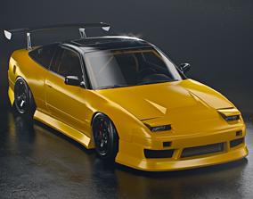 3D Nissan 240sx S13 BNsports