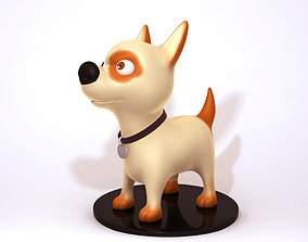 3D model Dog cartoon 01