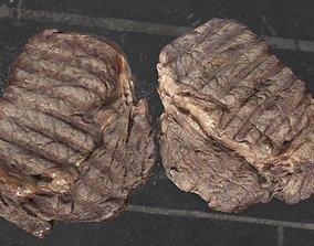 Beef steak 3D model scanned