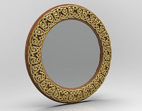 frame CELTIC MIRROR FRAME 3D print model