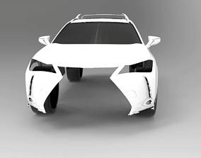 2019 LEXUS UX200 3D Scan Data 3D model 3D print model