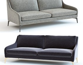 West Elm Alto Sofa 3D model