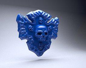 3D print model Buckle of Amina