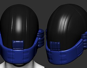 High quality scifi helmet high poly 3