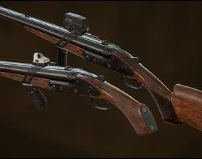 3D asset Advanced Weapon Pack