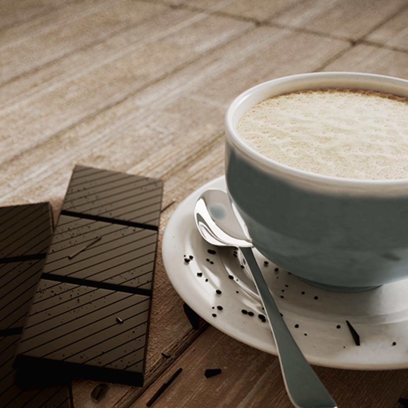 Cafe avec du chocolat
