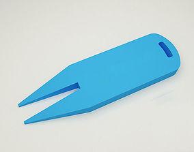 3D print model Divot Tool