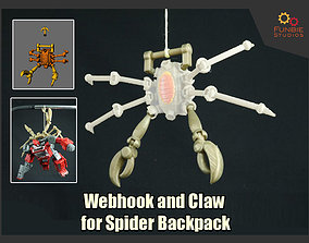 Webhook and Claw Addon for 3D printable model 2