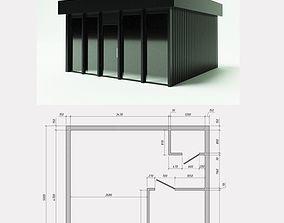 3D Mini-Mart 1- Shopping pavilion