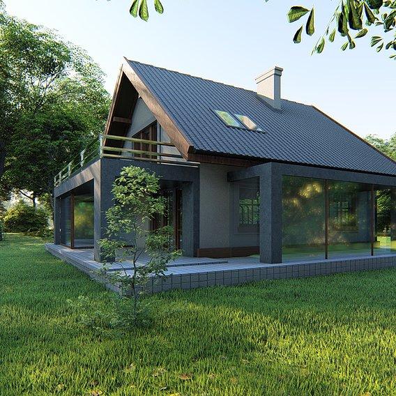 Archviz exterior House