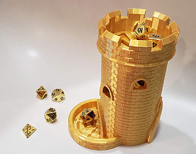 Dice Tower with Dice Jail 3D print model