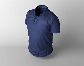 T-shirt 3D model realtime