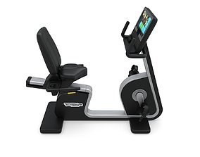Technogym - Exercise Bike Artis Recline 3D