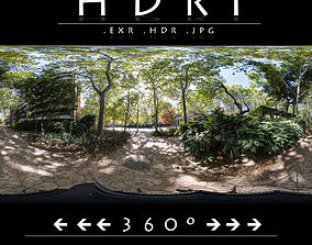 3D HDRI 2 PARK WITH HOTEL
