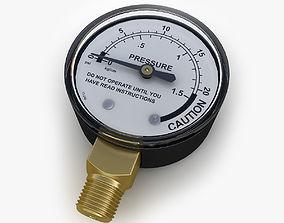 3D Pressure gauge 03