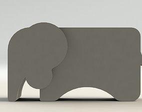 family Elephant Pen Holder 3D printable model