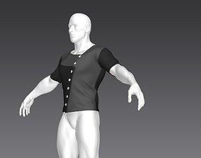 3D Clothes for Marvelous Designer T-Shirt06
