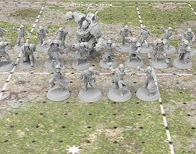 The Black Cross Worshippers - Human 3D printable model 3