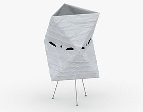 1415 - Paper Lamp 3D asset