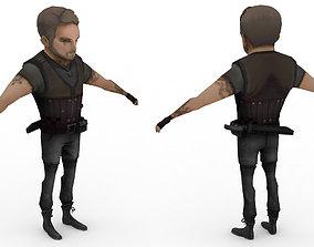 3D asset Cartoon Game-ready 06