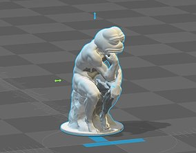 3D print model Pepe - The Thinker