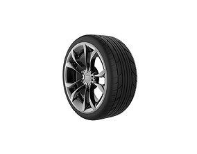 Audi S3 Wheel 3D printable model