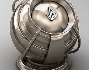 VRAY SHADER---METAL---Europium 3D