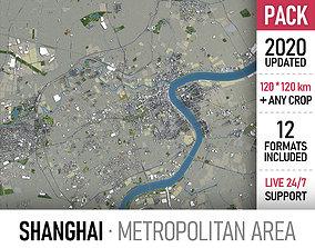 3D model Shanghai Metropolitan Area