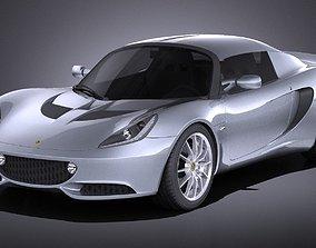 3D Lotus Elise 2012 VRAY