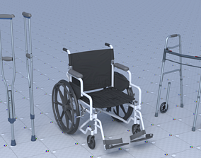 Lower Limbs Supportive 3D model