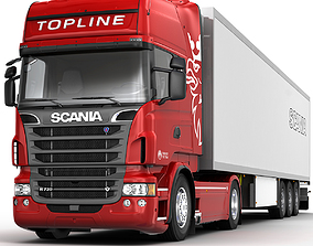 3D model Scania R 730