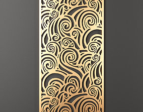 Decorative panel 185 3D