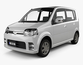 Daihatsu Move Custom 2004 3D