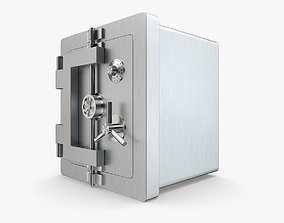 Bank Collection - Steel Bank Safe 3D