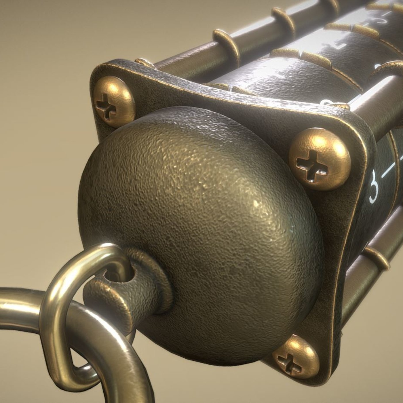 Cryptex USB-Stick (Rigged)