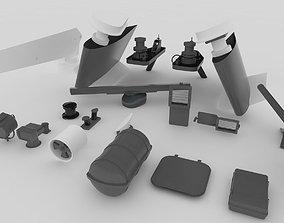 Yacht-Marine Equipment 3D model