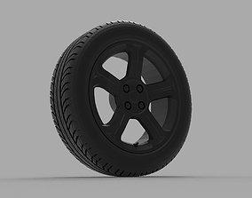 Peugeot 308 GTi 3D print model