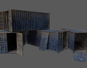 3D asset Military Container Pack